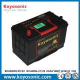 中酸が付いている日本の標準カー・バッテリー12V 65ah SMF自動車電池