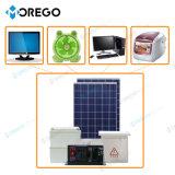 Moregosolar 1KW 200Ah Grade Desligado do Sistema de Painéis Solares com geração de Alta Potência