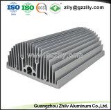 Personalizar el perfil de aluminio anodizado con disipador de calor y de mecanizado CNC