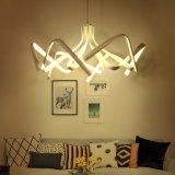 최신 디자인 알루미늄 백색 예술 LED 튜니지아 샹들리에