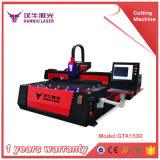 Máquina de grabado automática del corte del laser del metal de la fibra del carbón