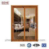 Portelli scorrevoli Windows dell'alluminio di vetratura doppia per l'interiore/l'esterno