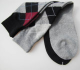 Mens-Baumwollkleid-Geschäfts-Socken (MA044)