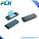 L'épissure à fibre optique FTTH FTTX Boîtier Fosc Type horizontal.