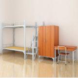Новый дизайн металлической двухъярусная кровать/стальные Double Decker кровать мебель