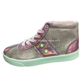 Новые поступления леди ЭБУ системы впрыска для отдыхающих обувь PU обувь для женщин (YJ1216-18)