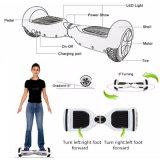 Zwei Rad elektrisches intelligentes Hoverboard mit Bluetooth preiswertem elektrischem