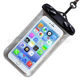 漂う水泳の携帯電話のタッチ画面PVC防水電話袋