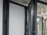 Contemporary Look Patio Aluminum Folding camera Doors for Exterior Balcony