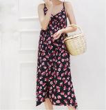 Modèle élégant OEM Mesdames robe de faisceau