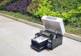 Принтер кожи мобильного телефона UV планшетной печатной машины миниый