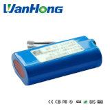 18650 bateria de 7.4V 1800mAh para a lâmpada Emergency/máquina do uso