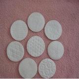 control PLC hembra adulta ronda maquillaje almohadillas de algodón que hace la máquina