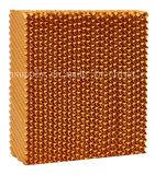 7090 Honey Comb patin de refroidissement de l'eau de refroidissement par évaporation avec le châssis