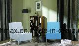 Singolo sofà per la casa con tessuto