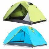 Porta dupla Rainproof Camping fontes externas de Lazer Tenda Atacado
