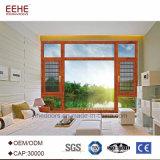 Windows de aluminio Windows de desplazamiento esmaltado ahorro de espacio
