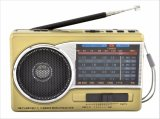 Fm/am/sw1-7 de Draagbare Radio van 9 Banden met USB/TF/Rechargeable/Bluetooth