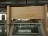 Пользовательская страница на заводе при повороте камня выставочного металлические рейки демонстрационный зал дисплей для установки в стойку