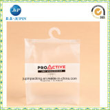 Sac cosmétique de course de PVC de plastique clair en gros (JP-plastique 035)