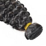 Il tessuto brasiliano dei capelli dell'arricciatura profonda impacchetta le estensioni di tessitura dei capelli dei capelli umani