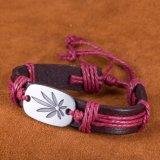 Form-Entwurfs-Frauen-ledernes Charme-Armband-Förderung-Geschenk