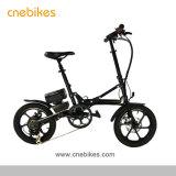 Новая модель Китая дешевые 16-дюймовый мини-электрический складной велосипед