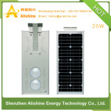 luz de calle solar al aire libre de la lámpara LED del jardín 25W con 3-Years-Warranty