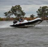 Liya 14ft China barco inflável rígida do barco de borracha com Motor