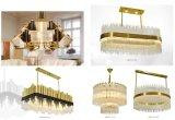 Hotel Decoração Projeto lustre de cristal iluminação pendente (KAP17-005)