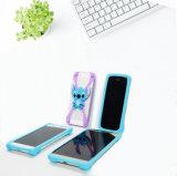 Cubierta universal del teléfono móvil del teléfono 3D del caso del estiramiento de la alta calidad del silicón de parachoques de la caja