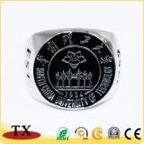 Горячее продавая подгонянное кольцо перста металла сувенира для подарка промотирования