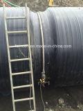 Große Größen, die Zelle-Wand HDPE Rohr im grossen Projekt wickeln