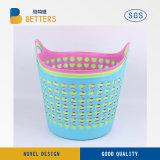 De plástico rosa Cesta Servicio de lavandería