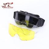 고품질 Ess 고글 색안경 옥외 운동 육군 방탄 팬 Anti-Fog Eyewear 군 고글은 도매한다