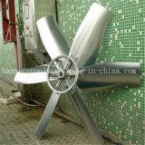 Ventilateur d'aération monté par dessus de toit industriel de ventilateur de guichet de mur