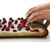 カスタム高品質のシリコーンのケーキ型のケーキロール型かスイス人型ロール、反熱いパッドまたは場所マット(XY-MT-58)