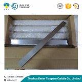 Tira del carburo de tungsteno/barras planas para el sacador de cerámica del molde