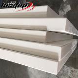 판매를 위한 프로젝트 경양식점 카운터를 위한 인공적인 순수한 백색 석영 홈 바 카운터