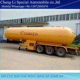 BPW Ejes 3 tanque de gas licuado de petróleo semi remolque para venta