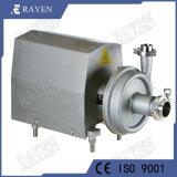 Les mesures sanitaires sanitaires en acier inoxydable pompe centrifuge pompe de boissons gazeuses