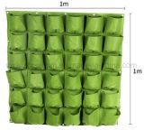 Fabricant OEM a estimé mur vertical de plantation d'écologisation Flowerpot Semoir de poche