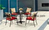 Openlucht /Rattan/Reeks van de Stoel & van de Lijst van het Aluminium van de Tuin/van het Terras/van het Hotel de /Furniture Gegoten (HS 3185C&HS 7126DT)