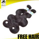 Prolonge normale de cheveu de bande d'onde de corps de 100% pour le cheveu brésilien