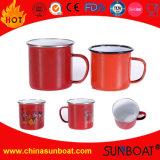 L'émail Mug tasse tasse de petit-déjeuner de l'eau