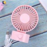 Portable 2W la tabla de refrigeración eléctrica ventilador USB para el hogar