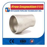 Het roestvrij staal ASTM A234 Concentrische Wpb vermindert Zonderling Reductiemiddel