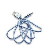 Cabo de dados tecido nylon do USB do preço de fábrica 5V 2A para o telefone esperto