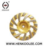 Двойной абразивный диск диаманта чашки рядка для камня
