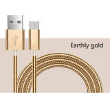 Cavo di carico poco costoso del USB del metallo in lega di zinco duro e durevole